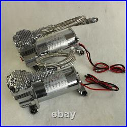 12 Volt Carmocar Dual Chrome 440C 200 PSI Air Compressor Kit 440C AIR