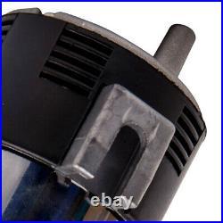 12V 150DB Chrome Dual Trumpet Train Air Horn Compressors Kit Car Train New