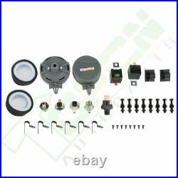 200PSI 12V Dual Chrome 440C Air Compressor Kit For Train Horn air bag suspension