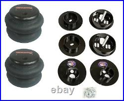 3 Preset Pressure Complete 480 Black Air Ride Suspension Kit For 65-70 Cadillac