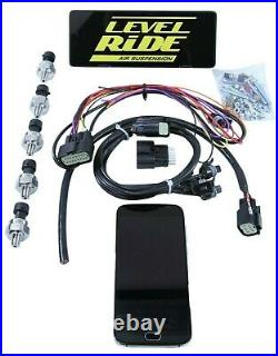 3 Preset Pressure Complete Bolt Air Ride Suspension Kit For 1961-62 Cadillac