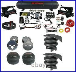 3 Preset Pressure Complete Bolt Air Ride Suspension Kit GM 88-98 C15 Manifold