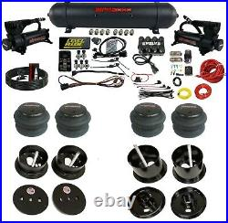 3 Preset Pressure Complete Bolt On Air Ride Suspension Kit Fits 1963-64 Cadillac