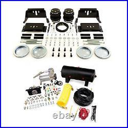 Air Lift Control Air Spring & Dual Air Compressor Kit for Ford E-450 Super Duty