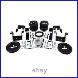 Air Lift Control Air Spring & Dual Air Compressor Kit for Sierra 3500/2500 HD