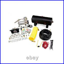 Air Lift Control Air Spring & Dual Air Compressor Kit for Silverado 2500 HD/3500