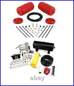 Air Lift Control Air Spring & Dual Air HD Compressor Kit for Ford Crown Victoria