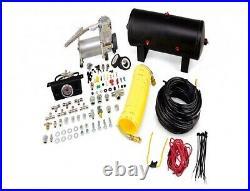 Air Lift Rear Control Air Spring & Dual Air Compressor Kit for Roadmaster/Impala