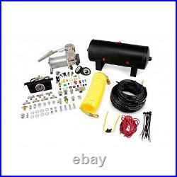 Air Lift Suspension Air Bag & Dual Path Air Compressor Kit for F-350 Super Duty