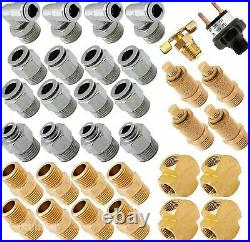 Air Suspension Kit/System for Truck/Car Bag/Ride/Lift, Dual Compressor, 6G Tank