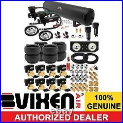 Air Suspension Kit for Truck/Car Bag/Ride/Lift/Spring Dual Compressor, 5G Tank