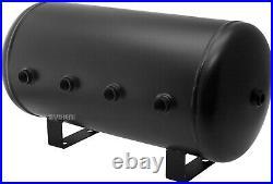 Air Suspension Kit for Truck/Car Bag/Ride/Lift/Spring, Dual Compressor, 6G Tank
