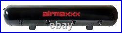 AirMaxxx 480 Dual Black Compressors 5 Gallon Tank Air Bag Suspension 200 psi Kit