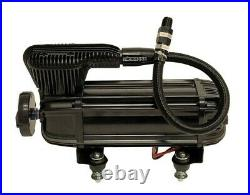 Airmaxxx X-Series Air Compressor Dual Pack Fast 200 PSI 2.2 CFM Black withWire Kit