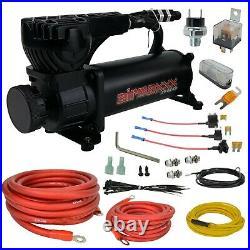 Airmaxxx black 580 air compressor & avs single compressor wiring kit