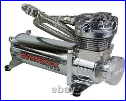 Airmaxxx chrome 480 air compressor & single compressor wiring kit