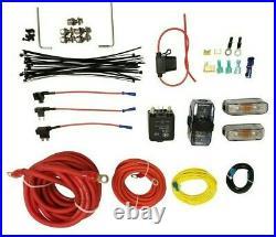 Airmaxxx dual chrome 480 air compressors & dual air compressor wiring kit