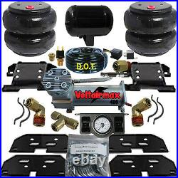 B Air Helper Spring Kit 2500/3500 RAM 2003-2013 Compressor dual paddle valve
