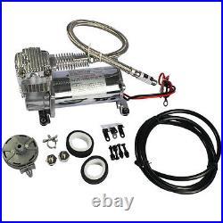 Brand New 12 Volt Carmocar Dual Chrome 440C 200 PSI Air Compressor Kit 440C