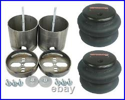 Complete Air Ride Suspension Kit with480 Chrome & 27685 Air Lift 3P For 99-06 1500