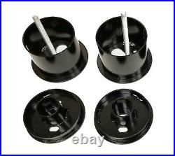 Complete Bolt On Air Ride Suspension Kit Manifold Valve Bags For 61-62 Cadillac