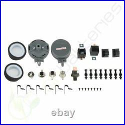 D440C 200 PSI 12V Dual Air Compressor Kit For Train Horns Bag Suspension