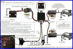 Dual Air Compressor Wiring Kit EVOLVE By AVS Air Ride Suspension
