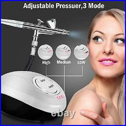 GANZTON Airbrush Compressor Kit Dual Action Airbrush Suit with Adjustable