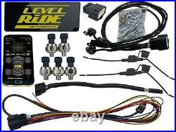 Level Ride Preset Pressure & airmaxxx Air Management 580 Chrome & Aluminum Tank