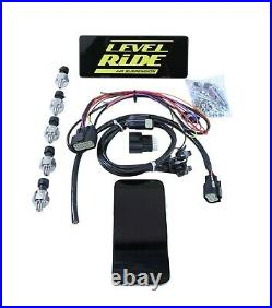 Level Ride Preset Pressure withComplete airmaxxx Chrome 480 Air Management Kit