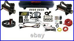 Level Ride Pressure & Airmaxxx Black 480 Air Management Kit Complete Wires & Fit