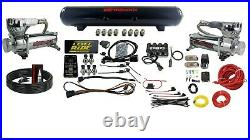 Level Ride Pressure Only airmaxxx Chrome 580 Air Management withComplete Wire Kit