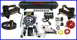 Levelride Height + Pressure Airmaxxx Black 580 Spun Aluminum Air Management Kit