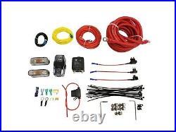 Levelride Pressure Only Airmaxxx Black 580 Spun Aluminum Air Management Kit