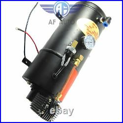 Loud Dual 2 Trumpet with 120 PSI Air Compressor Complete Train Horn Kit System