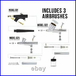 Master Airbrush Cool Runner II Dual Fan Air Compressor Professional Airbrushi