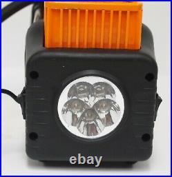 Portable 12V Dual Cylinder Air Compressor Pump Tire inflator LED Flashlight Kit