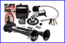 Pro Blaster Dual Truck Horn Kit, 120 PSI Sealed Air Compressor and 0.5 gal tank