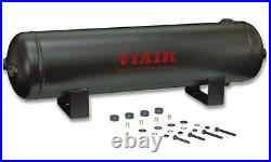 Truck Air Horn Dual Trumpet Kit with VIAIR 150psi 400c Air Compressor 2.5g Tank