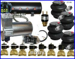 V DC100 Compressor 3/8 Valves 4-2600 Bags 14 Sw-box 8port tank pswit F08