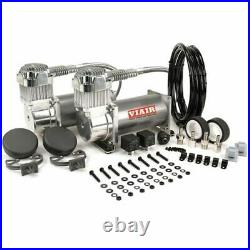 VIAIR Dual 380C 12-Volt 200-PSI Pewter Value Pack Air Compressor Kit 100&#37