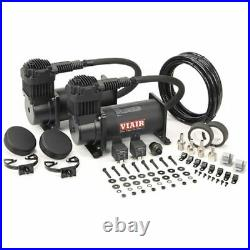 VIAIR Dual 380C 12-Volt 200-PSI Stealth Black Value Pack Air Compressor Kit