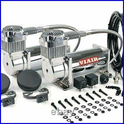 VIAIR Dual 400C 12-Volt 150-PSI Chrome Value Pack Air Compressor Kit 33%