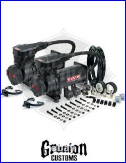 Viair 425C BLACK Dual Pack Compressors Air Bag Suspension Low Riders 175 PSI