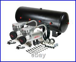 Viair 425C Platinum Dual Air Compressor W 7 Gallon 8 3/8 Port Air Tank Air Ride