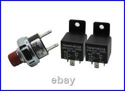 Viair Dual Black 444C 200 PSI Max Air Compressor Kit FREE Relays and PSI switch