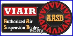Viair Dual Chrome 444C PSI Max Air Compressor Kit With Relays and 105 Off Switch