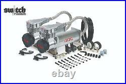 Viair Dual Platinum 485C 200 PSI Air Compressor Kit Gen 2, Lower Decibel