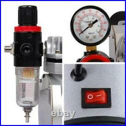 Yescom Dual/Single Action Airbrush Kit Air Compressor with Tank